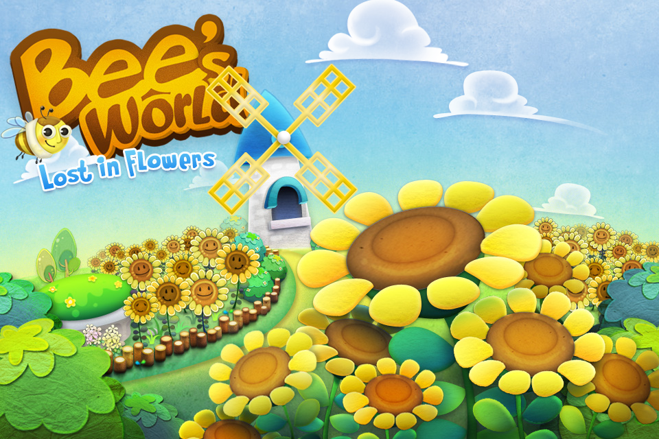 Screenshot Bee's World: Lost in Flowers